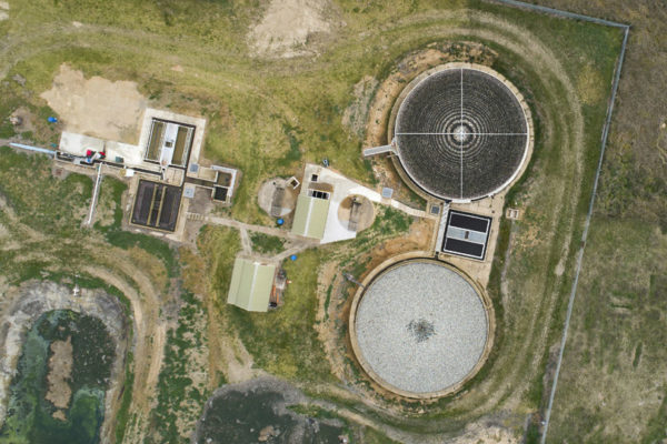 aerial drone photography sewage treatment works nsw featured image small