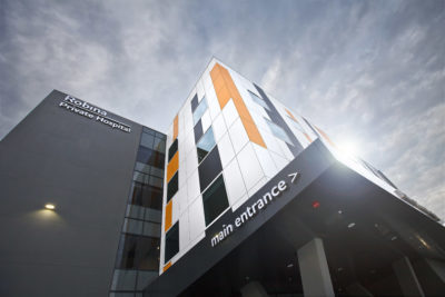 feature architectural photography image robina private hospital